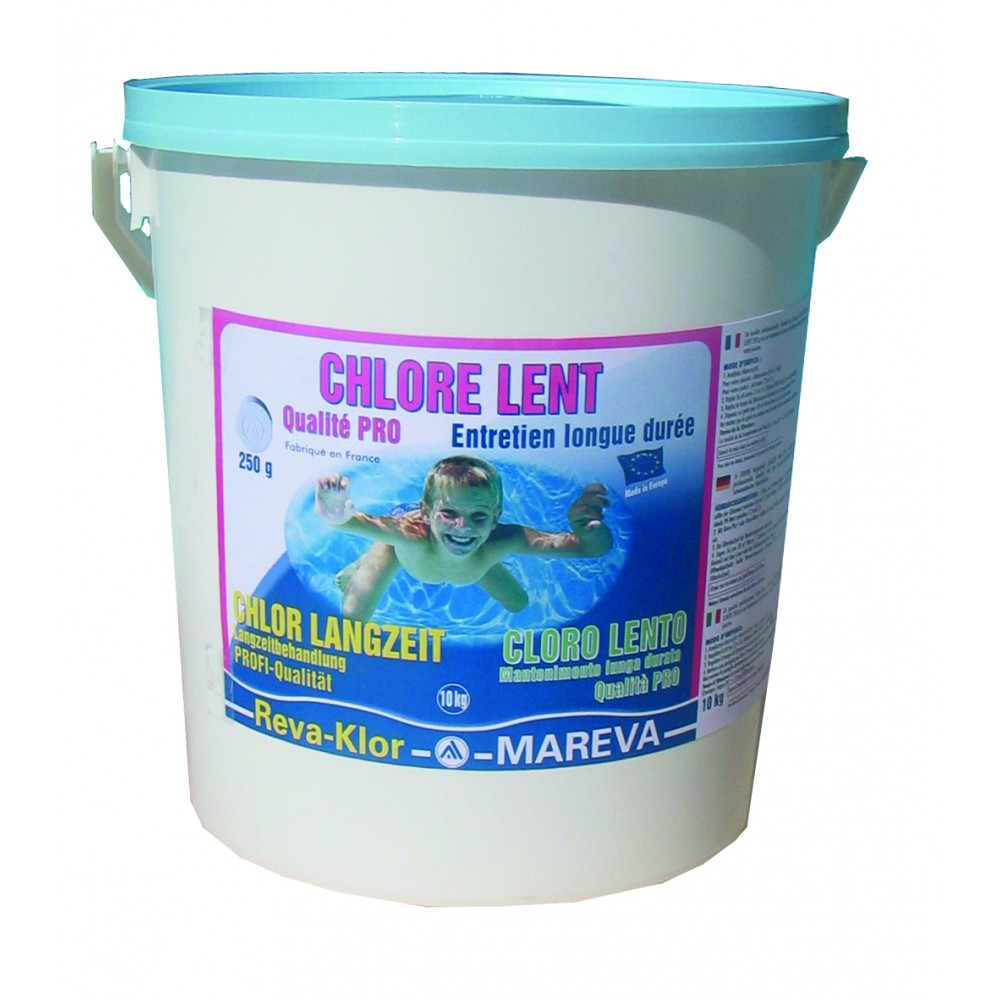 Promotion chlore piscine achat vente chlore galet pour for Concentration chlore piscine